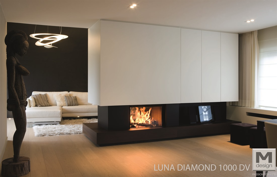 luna 1000dv house of heat. Black Bedroom Furniture Sets. Home Design Ideas
