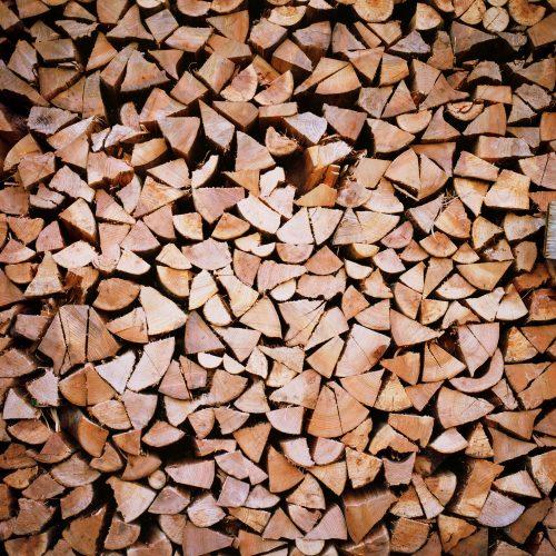 Wood Logs House of heat